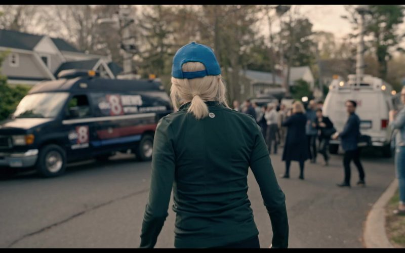 Sergio Tacchini Green Track Jacket Worn by Naomi Watts in The Loudest Voice (2)