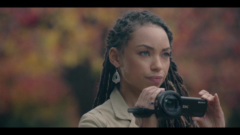 Sony Camcorder Used by Logan Browning in Dear White People - Season 3, Episode 5 (2019) - TV Show Product Placement