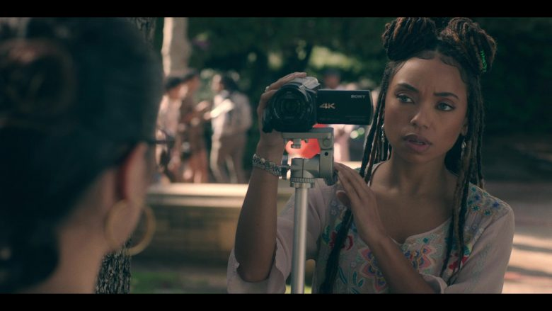 Sony Camcorder Used by Logan Browning in Dear White People - Season 3, Episode 10 (2019) TV Show