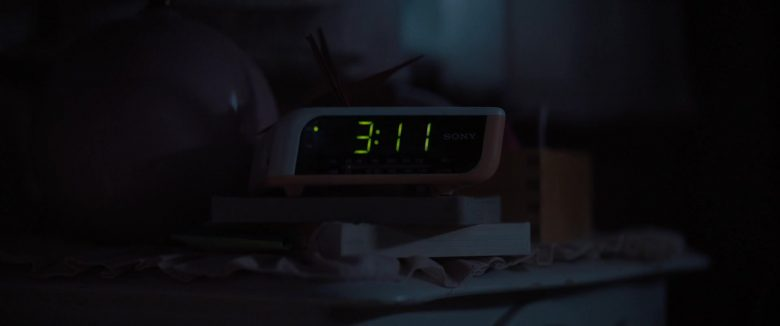 Sony Digital Clock in A Dog's Journey (2019) - Movie Product Placement
