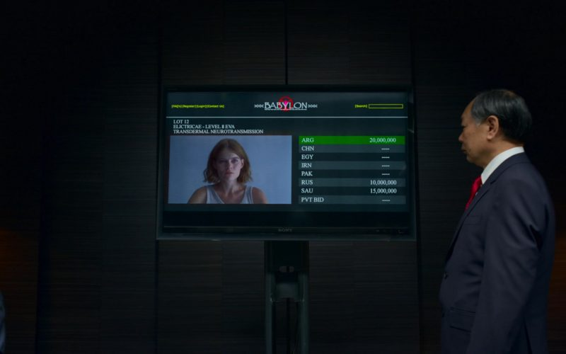 Sony TV in The Rook (2)