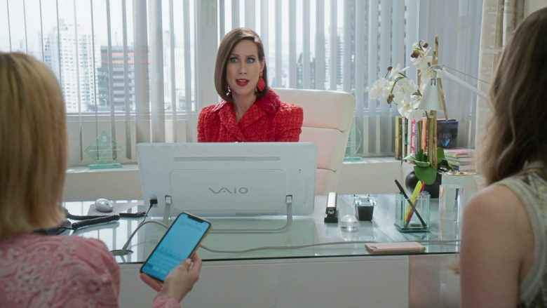 Sony Vaio Computer Used by Miriam Shor in Younger - Season 6, Episode 7, Friends With Benefits (2019) - TV Show Product Placement