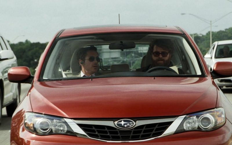 Subaru Impreza Car Used by Robert Downey, Jr. & Zach Galifianakis in Due Date (7)