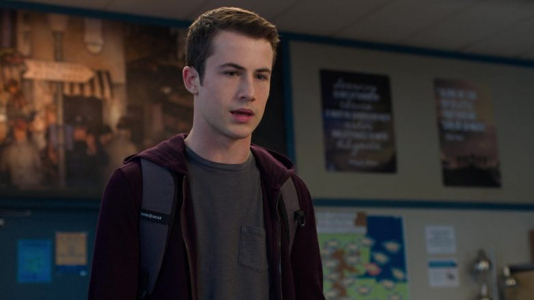 """SwissGear Backpack Used by Dylan Minnette as Clay Jensen in 13 Reasons Why - Season 3, Episode 8, """"In High School, Even on a Good Day, It's Hard to Tell Who's on Your Side"""" (2019) - TV Show Product Placement"""