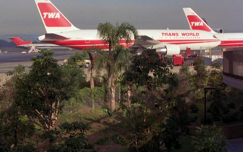 TWA Airlines and Aircrafts in To Live and Die in L.A.