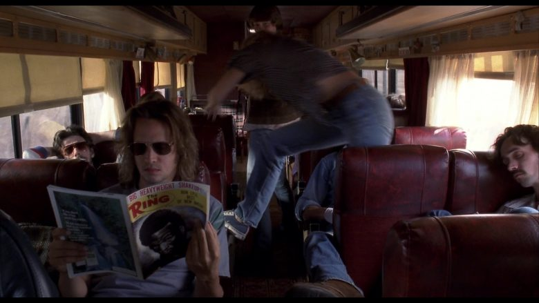 The Ring Magazine in Almost Famous (2000) - Movie Product Placement
