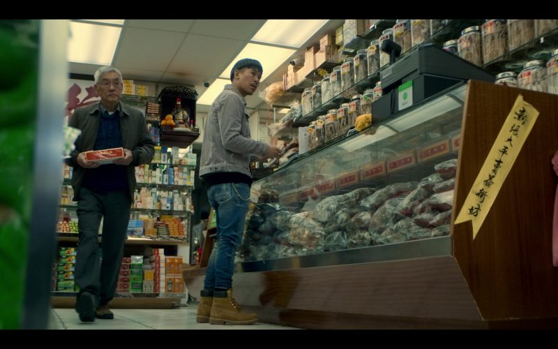 Timberland Shoes Worn by Lawrence Kao in Wu Assassins (1)