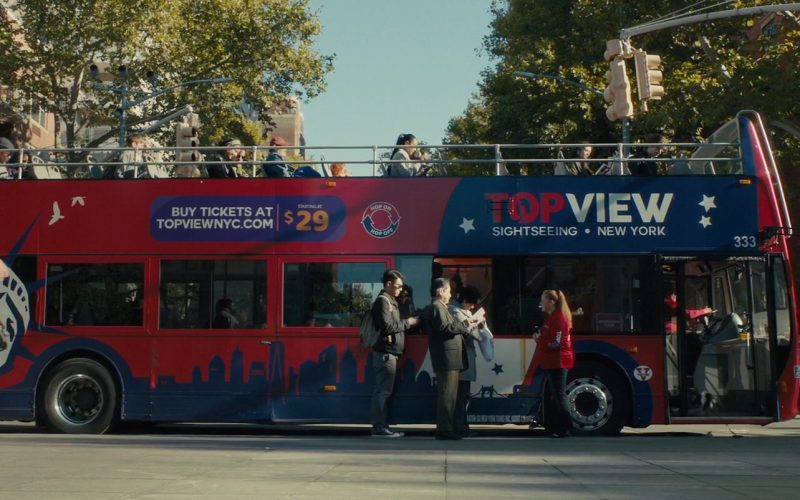 TopView Sightseeing NYC Bus in A Dog's Journey