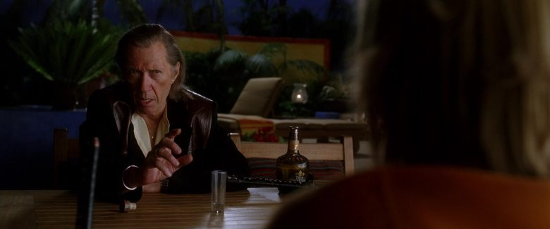 Tres Generaciones Triple Distilled Tequila Enjoyed by David Carradine in Kill Bill: Vol. 2 (2004) - Movie Product Placement