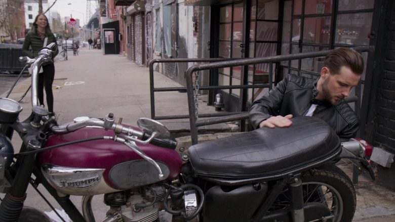 Triumph Motorcycle in Younger - Season 6, Episode 7, Friends With Benefits (2019) - TV Show Product Placement