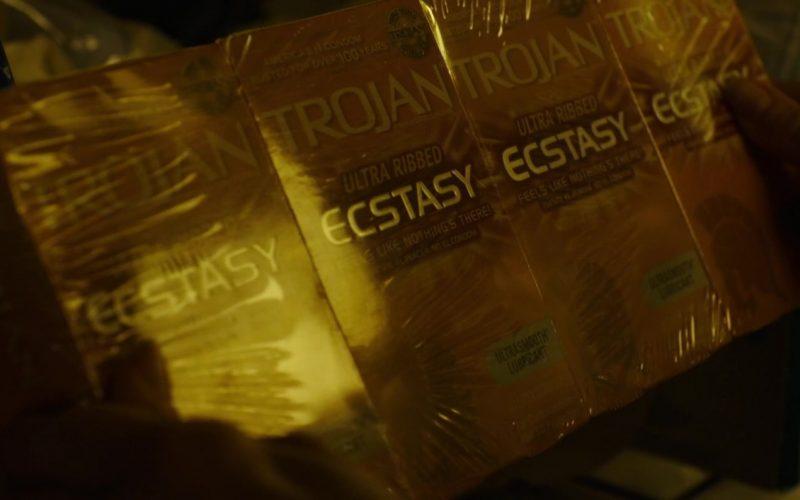 Trojan Condoms in The Tomorrow Man