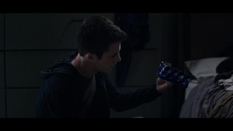 "Trojan Double Ecstasy Condoms in 13 Reasons Why - Season 3, Episode 3, ""The Good Person is Indistinguishable from the Bad"" (2019) - TV Show Product Placement"