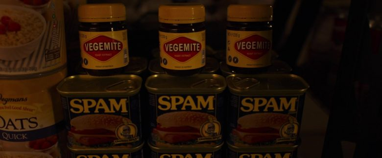 Vegemite and SPAM in The Tomorrow Man (2019) - Movie Product Placement
