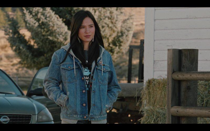 Wrangler Denim Jacket Worn by Kelsey Chow in Yellowstone (1)