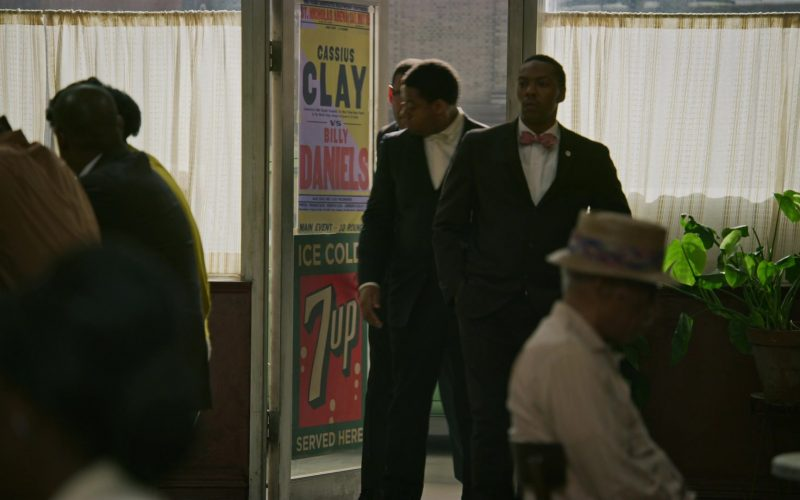 7Up Soft Drink Poster in Godfather of Harlem (1)