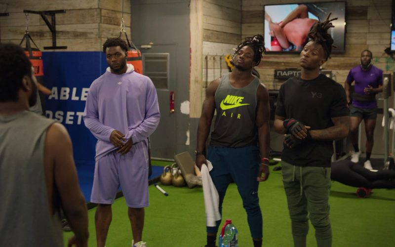 Adidas Shirt, Nike Pants, Nike Air and Y-3 T-Shirts in Ballers (1)