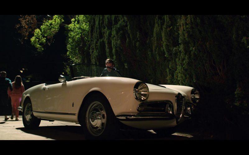 Alfa Romeo White Car in The Politician