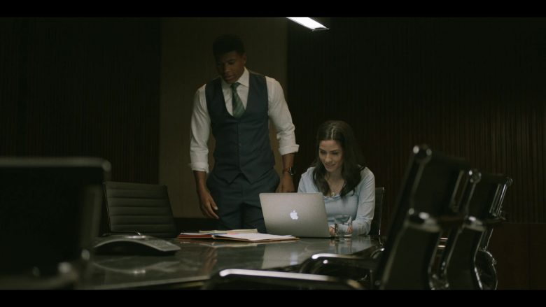 "Apple MacBook Laptop Used by Bethany Joy Lenz in Pearson - Season 1, Episode 8, ""The Political Wife"" (2019) TV Show"