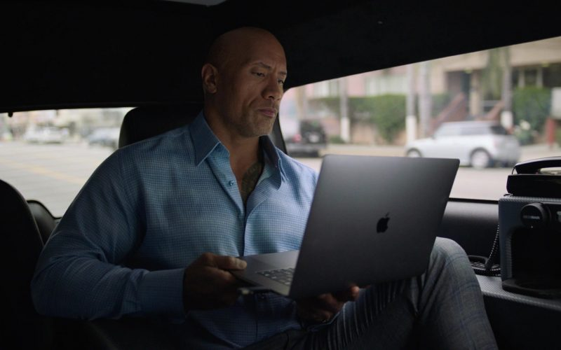 Apple MacBook Laptop Used by Dwayne Johnson as Spencer Strasmore in Ballers