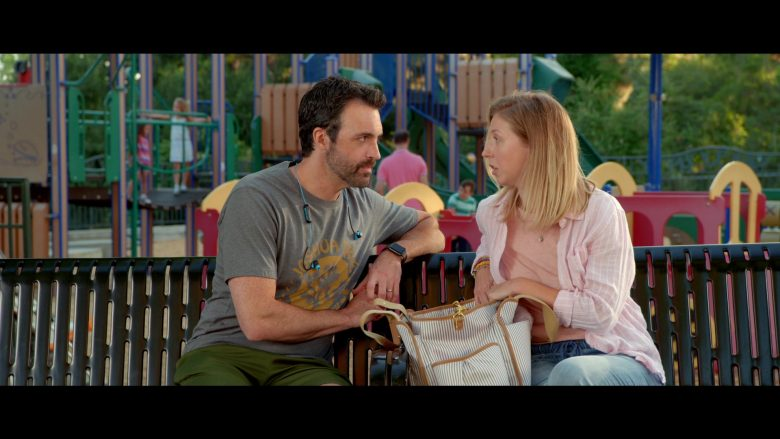 """Apple Watch Worn by Reid Scott as Eli Cohen in Why Women Kill - Season 1 Episode 7 """"I Found Out the Secret..."""" (2019) - TV Show Product Placement"""