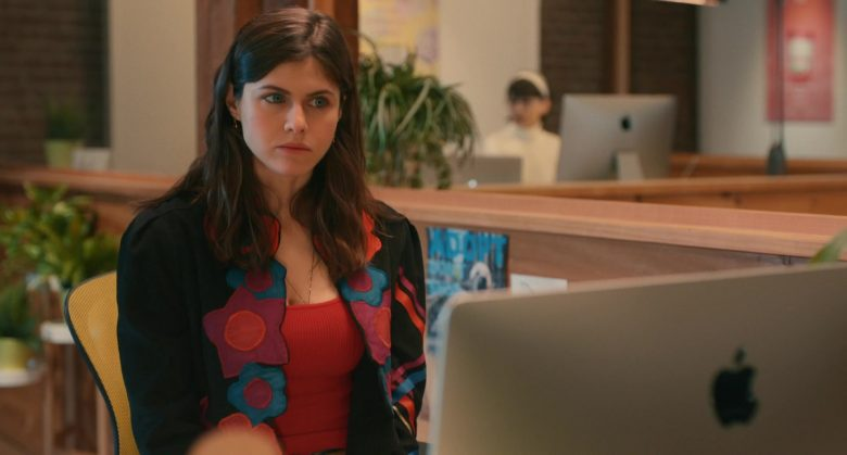 Apple iMac Computer Used by Alexandra Daddario in Can You Keep a Secret? (2019) Movie