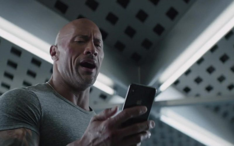 Apple iPhone Smartphone Used by Dwayne Johnson in Fast & Furious Presents Hobbs & Shaw