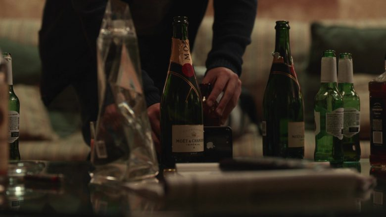 Apple iPhone Smartphone and Moet & Chandon Champagne in The Righteous Gemstones - Season 1, Episode 7, And Yet One of You Is a Devil (2019) - TV Show Product Placement