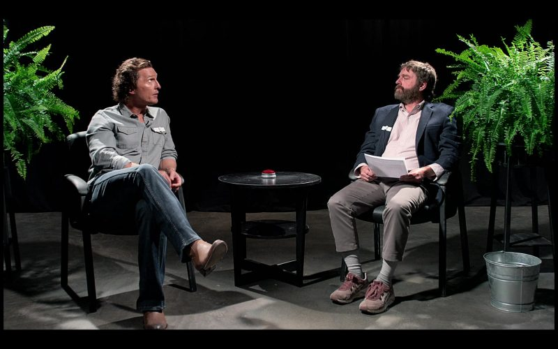 Asics Shoes Worn by Zach Galifianakis in Between Two Ferns The Movie (1)