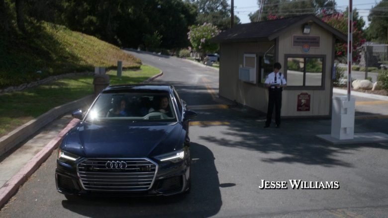"""Audi A6 Black Car in Grey's Anatomy - Season 16 Episode 1 """"Nothing Left to Cling To"""" (2019) TV Show"""