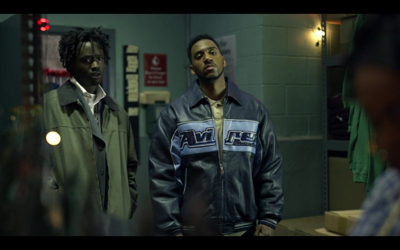 Avirex Jacket in Wu-Tang An American Saga (3)