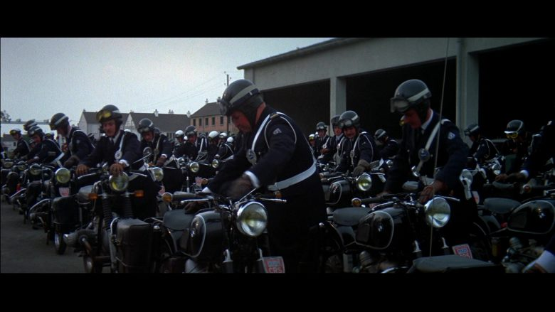 BMW R 60-2 Motorcycles in Le Mans (1971) - Movie Product Placement