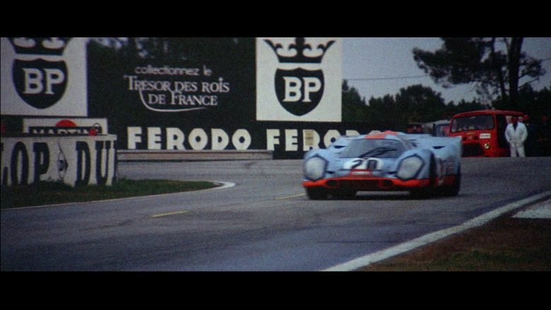BP and Ferodo in Le Mans (1971) - Movie Product Placement