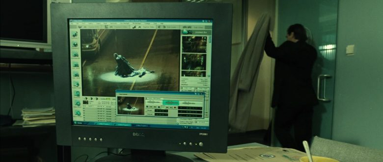 Benq Monitor in Blade: Trinity (2004) - Movie Product Placement
