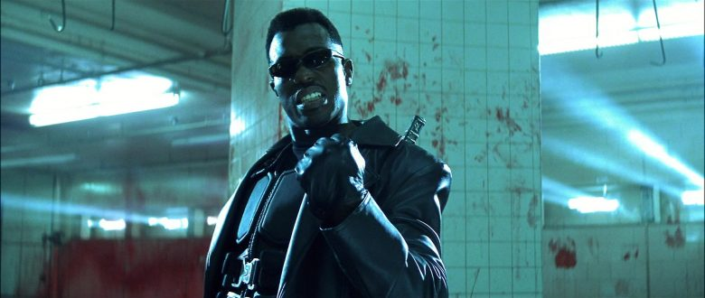 Black Flys Micro Fly Sunglasses Worn by Wesley Snipes in Blade (1998) Movie