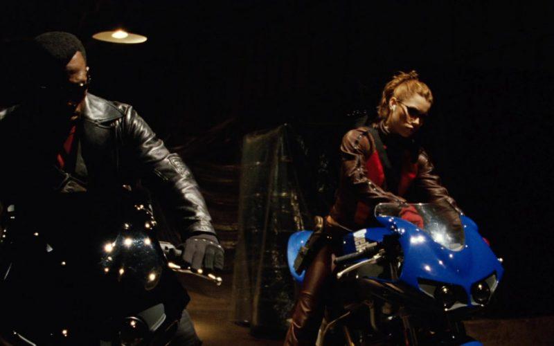 Buell XB 9R Firebolt Blue Motorcycle Used by Jessica Biel in Blade Trinity (1)