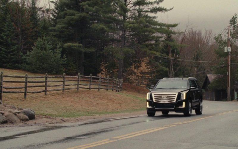 Cadillac Escalade Black Car in Succession (1)