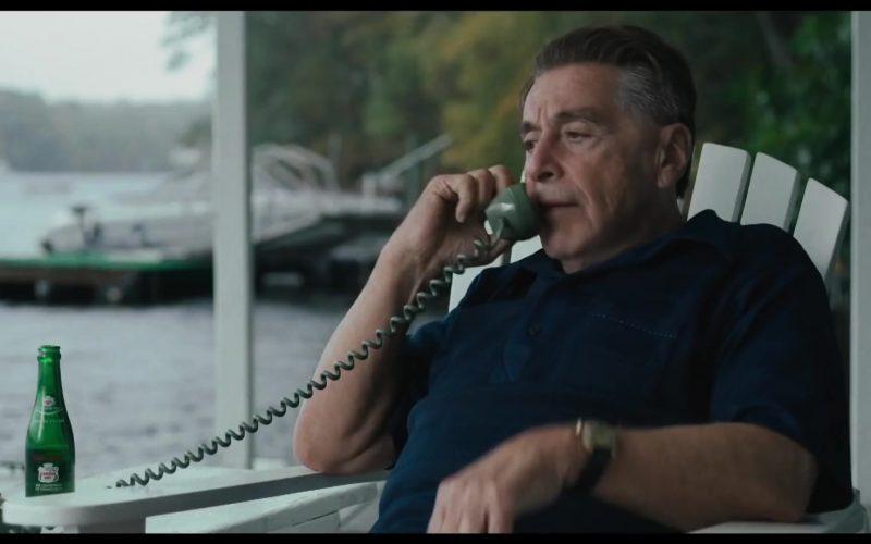 Canada Dry Soft Drink Enjoyed by Al Pacino as Jimmy Hoffa in The Irishman (1)