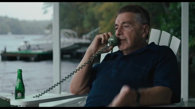 Canada Dry Drinks Enjoyed by Al Pacino as Jimmy Hoffa in The Irishman (2019) - Movie Product Placement