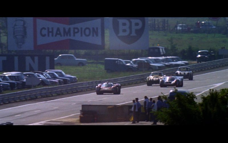 Champion Auto Parts and BP in Le Mans