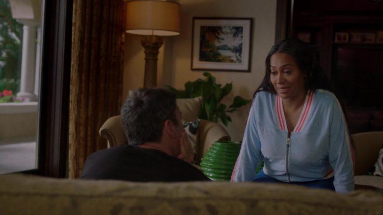 "Champion Women's Blue Jacket Worn by La La Anthony in BH90210 - Season 1, Episode 6, ""The Long Wait"" (2019) - TV Show Product Placement"