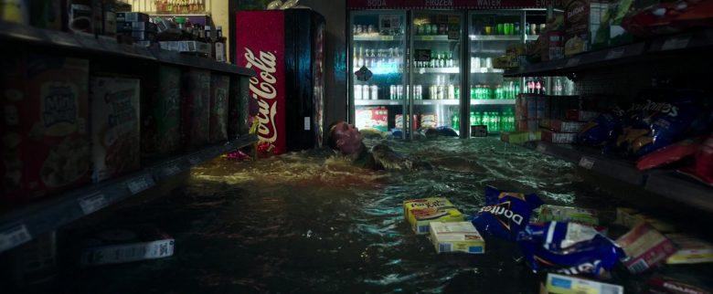 Coca-Cola and Doritos Chips in Crawl