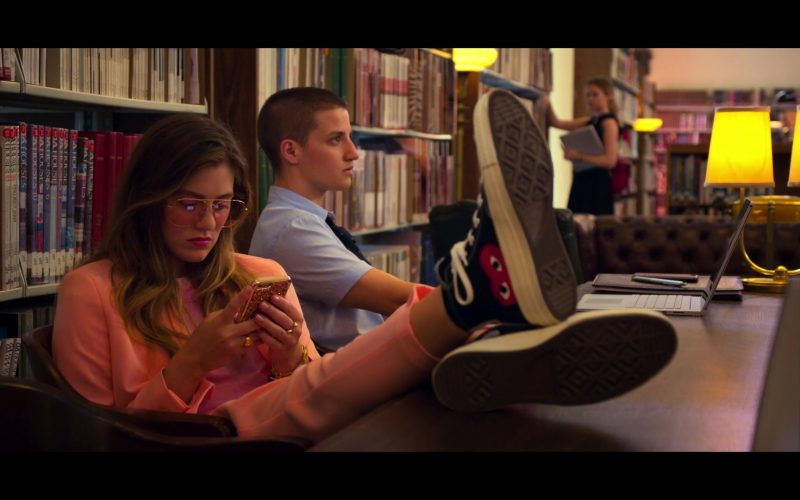 Comme des Garçons x Converse Shoes Worn by Laura Dreyfuss as McAfee in The Politician (1)
