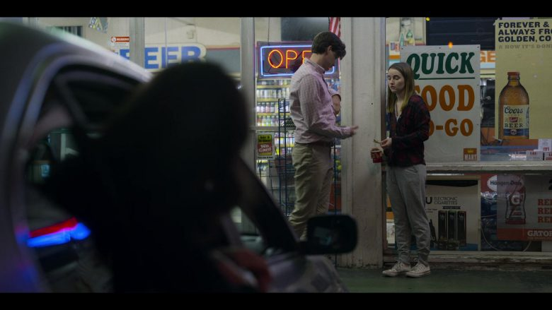 Coors Beer, Blu Electronic Cigarettes, Gatorade and Häagen-Dazs Posters in Unbelievable - Season 1, Episode 6 (2019) - TV Show Product Placement