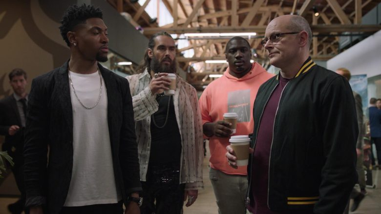 """Daniel Patrick Pink Hoodie Worn by Donovan Carter as Vernon in Ballers - Season 5 Episode 5 """"Crumbs"""" (2019) - TV Show Product Placement"""