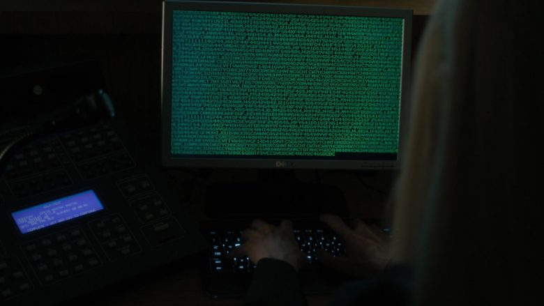 Dell Computer Monitor Used by Tilda Swinton in The Dead Don't Die (2019) - Movie Product Placement
