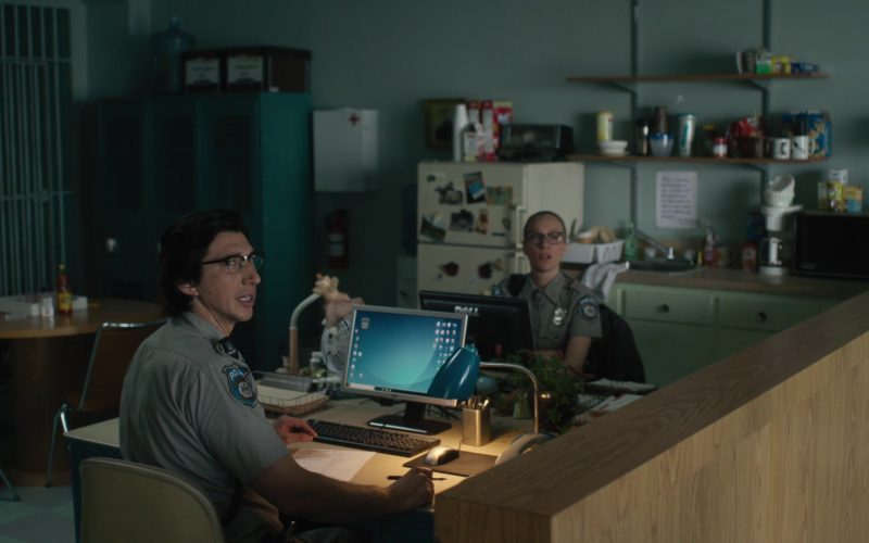 Dell Computer Monitors Used by Adam Driver & Chloë Sevigny in The Dead Don't Die (1)