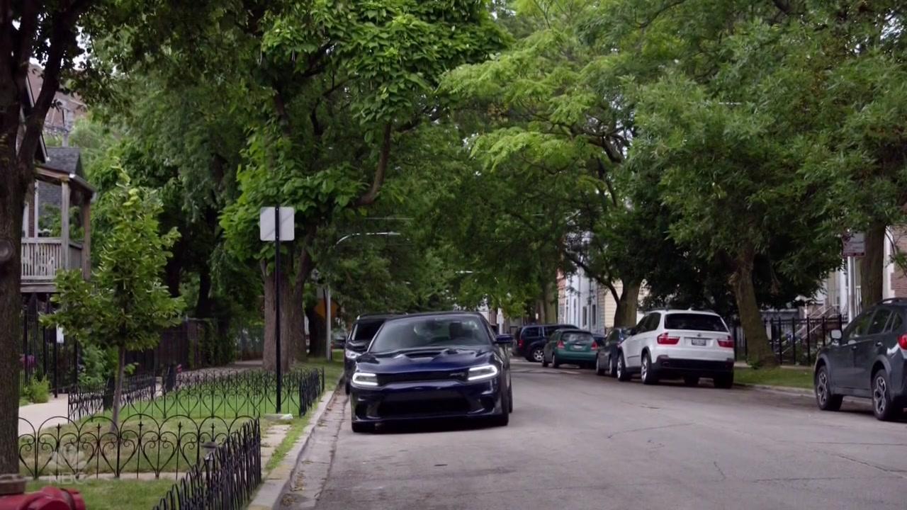 Dodge Charger Srt Blue Car In Chicago P D Season 7