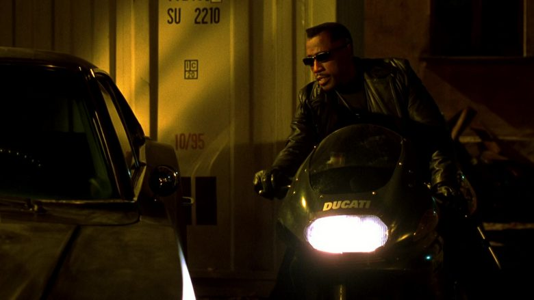 Ducati Black Motorcycle Used by Wesley Snipes in Blade 2 (2002) - Movie Product Placement