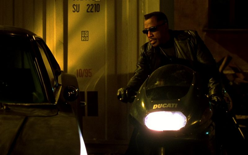 Ducati Black Motorcycle Used by Wesley Snipes in Blade 2