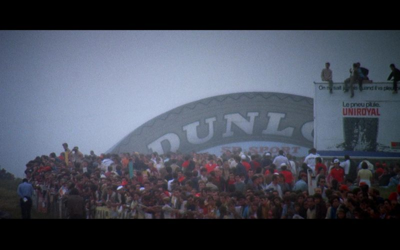 Dunlop and Uniroyal in Le Mans